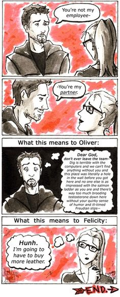 What it really means to be part of the team.  (from 2x10 'Blast Radius') #Olicity