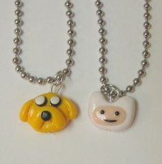 Adventure Time Best Friends Necklaces