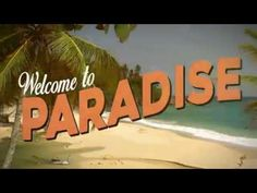 Welcome To Paradise Welcome, Paradise, Entertaining, Bee, Auction, Drink, Facebook, Board, Instagram