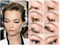 Макияж для карих глаз с нависшим веком Beauty Bar, Beauty Make Up, My Beauty, Beauty Hacks, Hair Beauty, School Makeup, Makeup Revolution, Eyebrows, Eyeliner