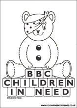 6 awesome Children In Need colouring pages for girls. All the colouring pages are awesome, printable books for girls to paint or colour in. Super Coloring Pages, Colouring Pics, Coloring Pages For Girls, Coloring Pages To Print, Coloring For Kids, Coloring Sheets, Coloring Books, Charity Activities, Activities For Boys
