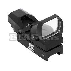 NCSTAR METAL Tactical Reticles Compact Reflex Red Dot Sight Weaver Mount