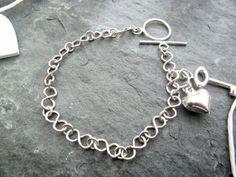 Beautiful Sterling Silver Infinity Link Bracelet by TripleMoonStar, £30.00