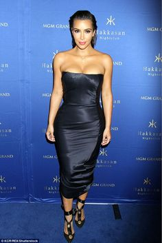 Keeping Up With Kimye — Kim at Hakkasan nightclub at the MGM Grand hotel...