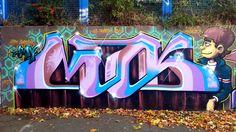 Streetart London from Abbey Road