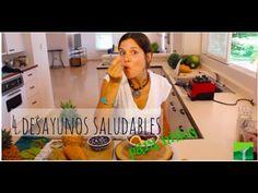 4 Desayunos/Meriendas Saludables Para Niños ( y adultos ;) - YouTube
