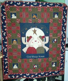 You'll love the quilts in our Christmas quilts photo gallery, and I'll bet that you find plenty of inspiration for your own holiday projects.: Cold Winter Noses Quilt