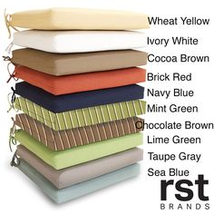 RST Sunbrella 21-inch Outdoor Chair Cushion | Overstock.com Shopping - The Best Deals on Outdoor Cushions & Pillows - $50 at Oversock.com