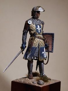 Mediaval knight in the Holyland