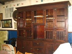 tobacco cabinet (sold for $1100)