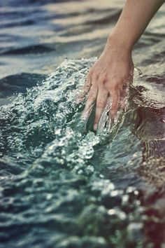 """""""Water. I want to be like water; Strong enough to hold up a ship, but able to slip through your fingers."""" - Michelle Williams"""