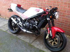 My Yamaha RD350 YPVS 31K I built.....
