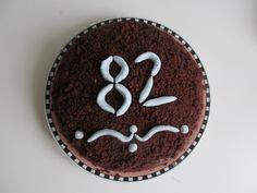 krtkův dort pro babičku k 82. narozeninám .))