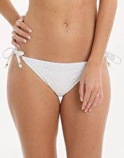 Lepel Summer Days Tie Side Pant - White Size 12
