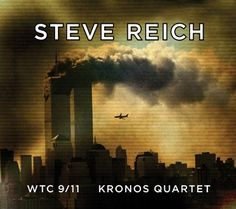 Pulled cover image of classical composer Steve Reich's WTC 9/11 album