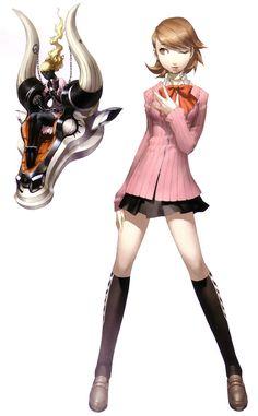 Yukari Takeba - Characters & Art - Shin Megami Tensei: Persona 3