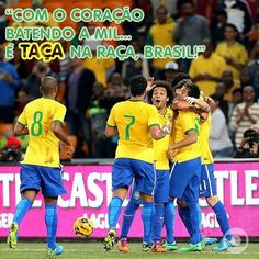 Brazil team . Brazil Players, Brazil Team, Neymar Jr, Baseball Cards, Sports, Hs Sports, Sport