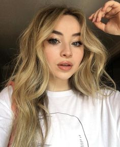scottkinghair: NYC mornings with this BABE Ruby-Jo Carpenter Shawn Mendes Fanfiction, Sabrina Carpenter Outfits, Shades Of Blonde, Girl Meets World, Celebs, Celebrities, Pretty People, Blonde Hair, Makeup Looks