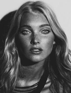 """mode-et-modele: """" Elsa Hosk by Ryan Yoon for Ground magazine """""""