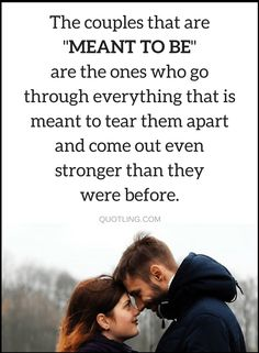 Quotes couples that are made in heaven, never leave each other's side no matter how many hell's they have to go through.