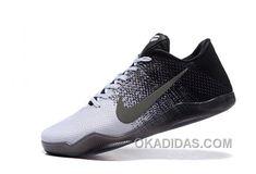 http://www.okadidas.com/kobe-11-low-black-and-white-grey-shoes-top-deals.html KOBE 11 LOW BLACK AND WHITE GREY SHOES TOP DEALS : $93.00