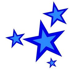 image result for shining blue star clip art band tee shirts rh pinterest com shining star clipart images shining star clipart free