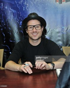 Musician David Desrosiers attends 'Simple Plan: The Official Story' book signing…