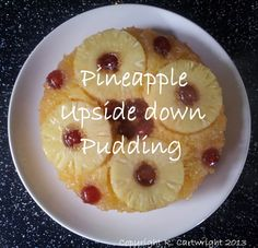 Craft with Ruth Cartwright: Recipe for pineapple upside down pudding