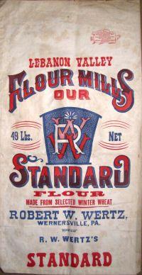 Feedsacks Assorted Designs for sale here! Vintage Fonts, Vintage Labels, Dining Table Redo, Feed Sack Bags, Burlap Bags, Vintage Packaging, Types Of Lettering, Beer Tasting, Grain Sack