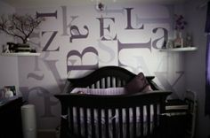Cute idea for a nursery. by penelope