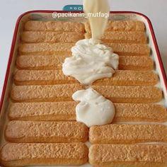 sağlıklı yemekler – The Most Practical and Easy Recipes Turkish Recipes, Cake Shop, Easy Cake Recipes, Marsala, Cheesecakes, Tart, Waffles, Deserts, Food And Drink