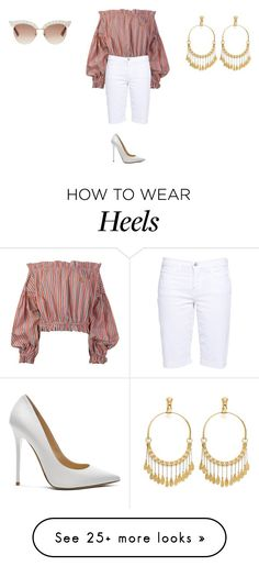 """Sans titre #13342"" by ghilini-l-roquecoquille on Polyvore featuring Vivienne Westwood Anglomania, J Brand, Jimmy Choo, Gucci and Chloé How To Wear Heels, Vivienne Westwood Anglomania, J Brand, Jimmy Choo, Gucci, Ootd, Lady, Polyvore, Outfits"