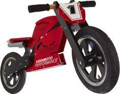 Carl Fogarty Wooden Bike