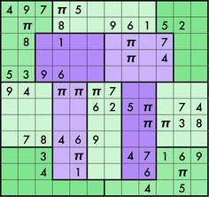 Sudoku with PI.