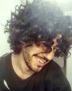 #curlyhair #model #sexy #hippiestyle #pelorizado #longhair