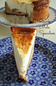 marzo #Vogliadi #torte –   Crostata al Quark, Mele e Speculoos / Apple Quark Tart with Speculoos