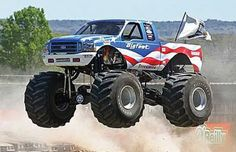 Bigfoot Monster Truck — The 25 Most Patriotic American Flag Cars ...