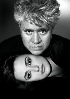Almodóvar y Penélope Cruz