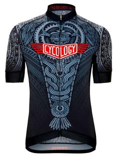 Aztec Men s Cycling Jersey in Black Cycling Jerseys 8dd8ce01e