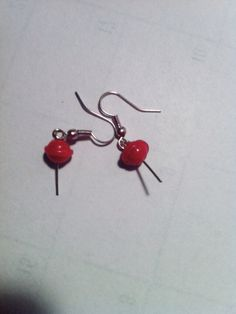 Lollypop earrings made for FIMO clay