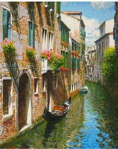 Pencil Portrait Drawing, Portrait Art, Beautiful Places To Travel, Beautiful World, Soft Pastel Art, Venice Painting, Best Of Italy, Dslr Background Images, Unique Drawings
