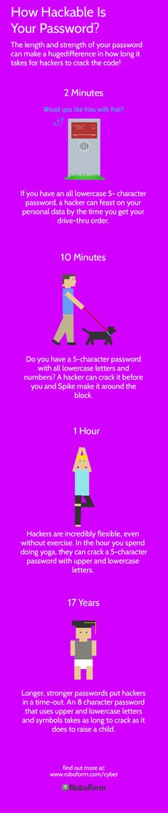 How hackable is your #password? Find out at www.roboform.com/cyber and enter for a chance to win an online security software package as well as a $100 Visa gift card! #NCSAM