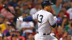 July 10, 2015 -- New York Yankees - Alex Rodriguez #13 playing in Boston Mass.