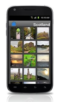 VA Photography    Photo Gallery Android App  A simple app to showcase the photo gallery of a photographer using different displays