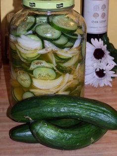 Shaker Pickles