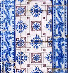 Azulejos antigos no Rio de Janeiro: Centro XXVI - rua do Carmo