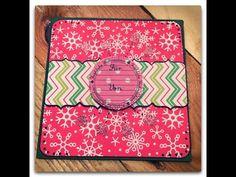 ▶ Scrapbook Giftholder Card---Geschenkkarte---Tutorial - YouTube