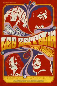 Led Zeppelin fan art on Behance