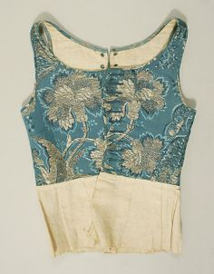 Bodice  Date: 18th century Culture: French Medium: silk Dimensions: [no dimensions available] Credit Line: Gift of Mrs. Robert Woods Bliss, 1943 Accession Number: C.I.43.90.21