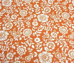 Baumwolle Hilde orange